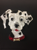 103rd Dalmatian limited edition Dog Brooch by Erstwilder (SOLD)